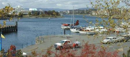 Floatplane in the Inner Harbour