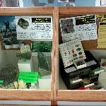 Static displays on jade and mineral collecting.